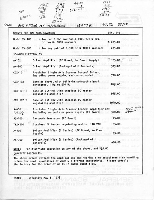 Click image for larger version.  Name:GS Price List 1978 - 002.jpg Views:17 Size:2.26 MB ID:46195