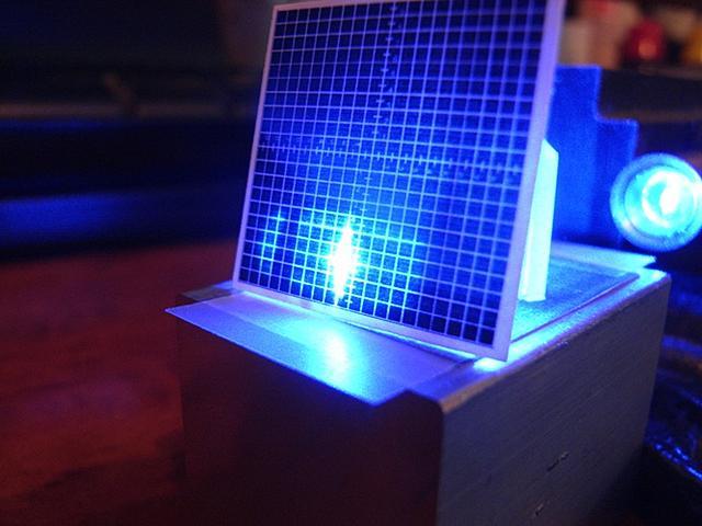 Mccarrot prism aperture beam size