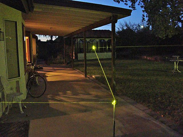 Click image for larger version.  Name:Yellow Beam in Gazebo.jpg Views:51 Size:649.5 KB ID:48003