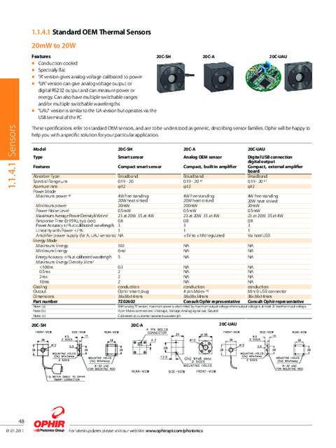 Click image for larger version.  Name:Ophir Sensor.pdf Views:31 Size:171.2 KB ID:33799