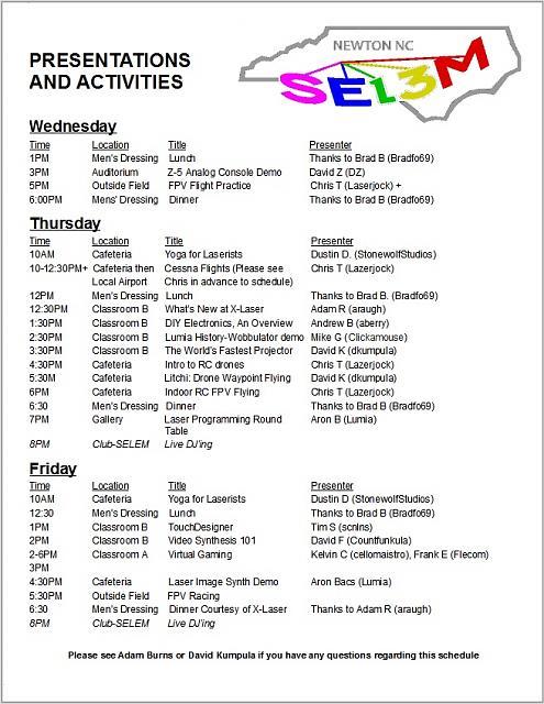 Click image for larger version.  Name:SELEM 13 Presentation Schedule Page 1 (Hardcopy version).jpg Views:9 Size:205.3 KB ID:55783